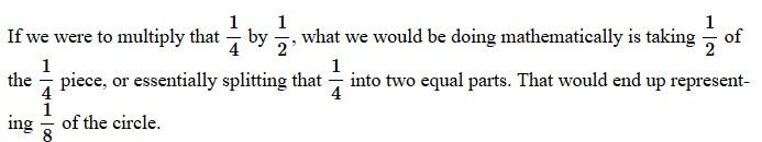 fractions in line